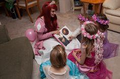 Ever After Princess Parties Mermaid Princess, Princess Party, Flower Girl Dresses, Prom Dresses, Formal Dresses, Wedding Dresses, Princess Makeup, Ever After, Ariel