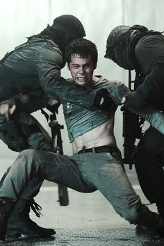 The Maze Runner (2014) New still - Thomas - D y l a n O´Brien
