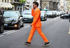 All orange, all the time.