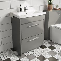 Clarity satin grey wall hung vanity unit and basin Grey Vanity Unit, Basin Vanity Unit, White Vanity, Vanity Units, Extra Storage Space, Storage Spaces, Vanity Drawers, Wall Hung Vanity, Drawer Unit