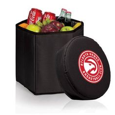 Picnic Time NBA Bongo Cooler Color: Black, NBA Team: Minnesota Timberwolves