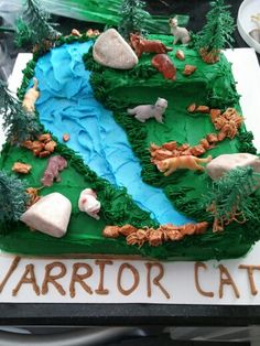 Warrior Cat Cake