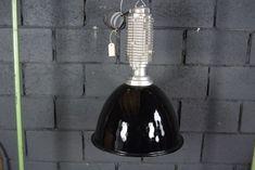 Industrial Ceiling Lights, Electrical Components, Design Show, Vintage Industrial, Pendant Lamp, Vintage Designs, Vintage Items, Restoration, Black
