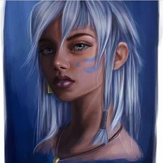 Disney Princess Heroines fanart - Kida of Atlantis Disney Pixar, Kida Disney, Disney Fan Art, Disney Animation, Disney And Dreamworks, Disney Characters, Animation Movies, Cute Disney, Disney Girls