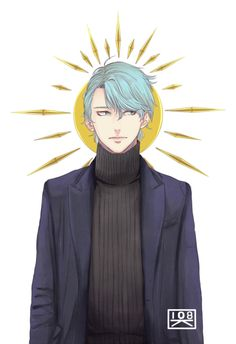 Image about anime in Mystic Messenger by Şħouŧo Mystic Messenger V, Messenger Games, Mystic Messenger Characters, Saeyoung Choi, Victor Nikiforov, Jumin Han, The Villain, Illustrations, Anime Guys