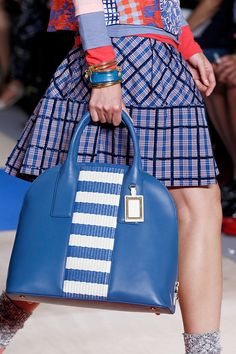 #marcbymarcjacobs detail. Dig the bag, but most especially the sequin plaid skirt. #nyfw #spring2013