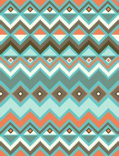 Aztec Art Print by Less Design