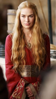 Cersei Lannister from Game of Thrones. Emmy voting is nearly done, and GoT is among the big dramas hoping to win big in a highly competitive field.