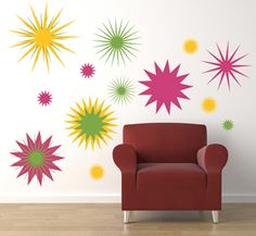 Explosions | Wall Decals - Trading Phrases