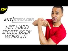 30 Min. HIIT: Sports Themed Athletic Workout | HIIT/STRONGER: Day 02 - YouTube