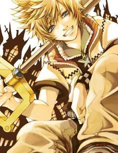 I think Roxas was one of my most favorite characters in this, because most the time he was just trying to figure out who in the heck he 'was'. He just wanted to live a simple life with friends and stuff and just be normal. But because of his other half, people kept dragging him back into all these things like the Organization, and just tons of dealings with Ditz, though, to his credit, he never once have up, because it was the only way he could thing of to find himself.