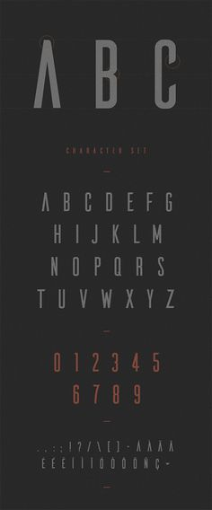 Ailerons - free typeface