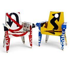 Artist: Boris Bally: Broadway Armchairs