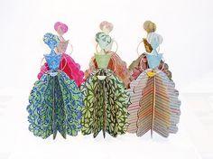 Ana's Dolls - Paper Art by Carlos N. Molina - Paper Art, via Flickr