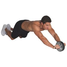 Give your upper body a workout with the Everlast Duo Exercise Wheel. Lightweight and portable, this unit features molded, easy-to-grip handles and two smooth-gliding wheels. Use it to target your abs, arms, back and shoulders. Fitness Gadgets, You Fitness, Fitness Goals, Health Fitness, Best Buy Promo, Best Buy Coupons, No Equipment Workout, Fitness Equipment, Exercise Wheel
