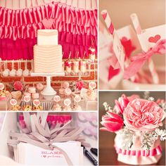 Pink Ruffles and Ribbons | 25 Of The Best Baby Shower Themes Ever