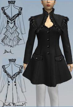 Steampunk   Bustle  Jacket Amber Middaugh 2015
