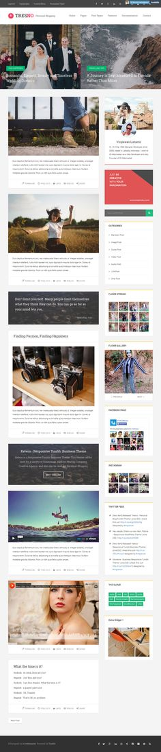 Tresno - Personal Blog Tumblr Theme. Live Preview and Download: http://themeforest.net/item/tresno-personal-blog-tumblr-theme/10370524?ref=ksioks