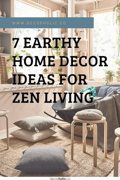 As these uncertain and erratic times make it difficult to find tranquility and relaxation in your lives. One of the options left is to create a peaceful haven in the comfort of your own home. This is the reason why zen principles applied in interior design have increased in popularity and become a trend of modern days. #decorholic #zenunteriordesign #zenliving #zenhouse #designideas #homedecor #earthydecor