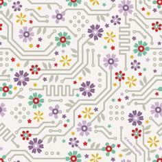 'Flower Circuit' by Anita Kingsley
