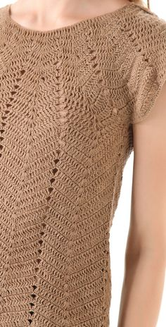 Ivelise Feito à Mão: Blusa Em Ponto Ripple