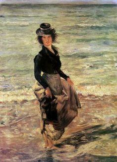 Lovis Corinth (Friedrich Heinrich Louis, German 1858–1925)    Paddling Sun