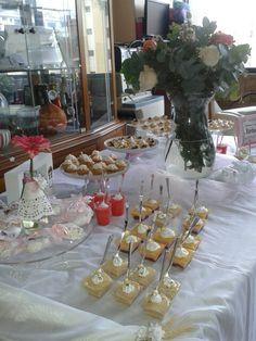 Mesa dulce primera comunión