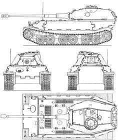 VK 4502 (P) blueprint