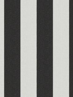Ralph Lauren - RACING STRIPE - BLACK WHITE - $69.75 Per Yard #paris #Interior #decor