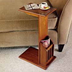 $59.95 Magazine Snack Table, End Table, Side Table | Solutions