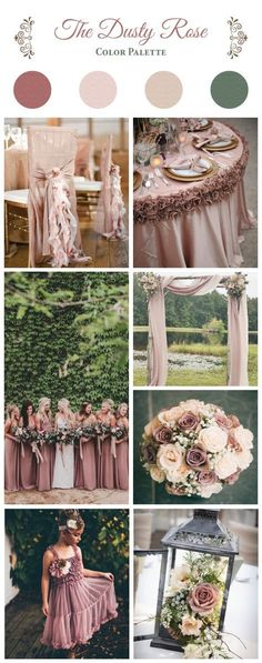 The Dusty Rose Color Palette