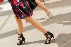 30 Pairs Of Shoes We're Seriously Obsessed With #refinery29  http://www.refinery29.com/2014/09/74258/fall-fashion-week-shoes-2014#slide-4  Strappy sandals (of all shades and patterns) were all over New York Fashion Week.