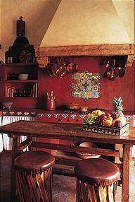 Hacienda style - niches