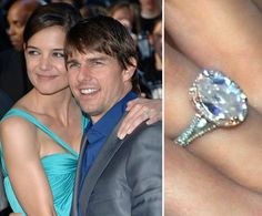 Pin for Later: The Very Best Celebrity Engagement Rings Katie Holmes
