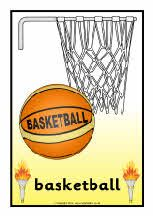 Olympics sport posters (SB7080) - SparkleBox