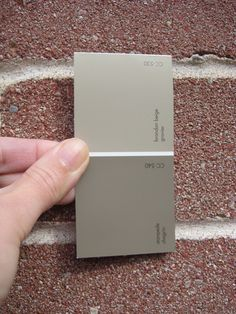 Benjamin Moore BM Stampede paint CC-540 and Brandon Beige