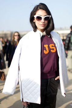 El street style de Paris Fashion Week Otono 2013