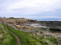Walking the Fife coastal path in Scotland