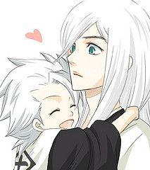 Toushirou and Juushiro would make an adorable father-son duo!