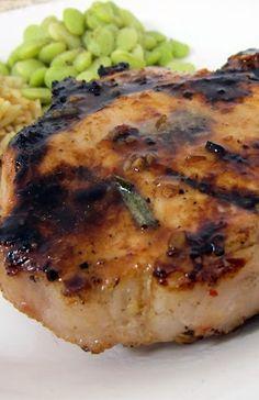 Italian Grilled Pork Chops