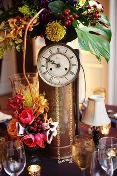Image detail for -industrial steampunk wedding centerpiece Steampunk Wedding Video ...