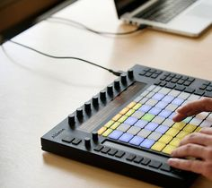Ableton Push – the instrument for hands-on control of melody and harmony, beats, sounds and song structure in Ableton Live.