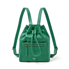 Pin for Later: Your Old Favorite Fashion Brands Are New Again This leather Vickery Drawstring Backpack ($168) is structured enough to pack the essentials and quirky enough to colorblock with.