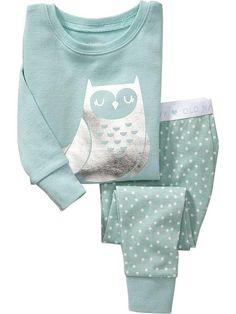Owl Sleep Sets for Baby