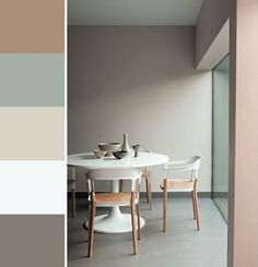 Prachtige pastel kleuren die je woonkamer gelijk sfeer en stijl geven. Test deze kleuren ook in je eigen woonkamer met de Flexa Kleurtesters in bijvoorbeeld Early Dew, Fresh Linen, Authentic Grey of Stylish Pink.