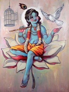 : Art of Krishna Hare Krishna, Krishna Art, Krishna Drawing, Krishna Painting, Lord Krishna Images, Radha Krishna Pictures, Ganesha, Shiva, Lord Krishna Hd Wallpaper