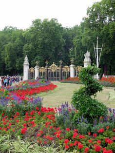 Buckingham Palace : fleurs (Londres / Angleterre)