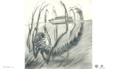 Browse a collection of 50 original sketches by Stephane Levallois, Max Kostenko, Nadia Mogilev made for Kong Skull Island. A team of scientists explore an Islands In The Pacific, Skull Island, Cool Sketches, Amazing Sketches, Fantasy Dragon, Art Sites, King Kong, Monster, Creature Design