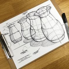 Today I discovered @rodrigocvz_idsketch and found his work to be incredibly inspiring! I loved the composition on his kettle concept page so I practiced it myself.