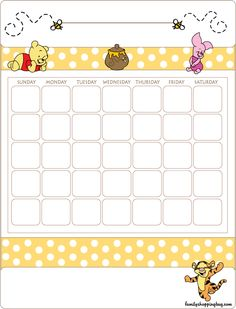 When Will Baby Merritt Come? Baby shower game (May/June Baby Calendar, Disney Frames, Memo Notepad, Baby Shower Invitaciones, Planner Decorating, Pooh Bear, Note Paper, Writing Paper, Journal Cards